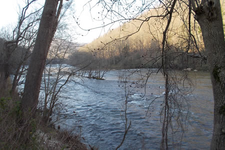Nolichucky River, Tennessee.
