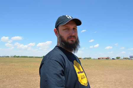 Justin Sytsma, Cadillac Ranch, Amarillo, Texas, USA