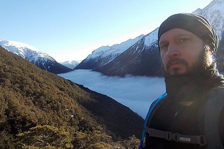 Justin Sytsma, Avalanche Peak Track, Arthur's Pass, New Zealand.