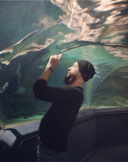 Justin Sytsma, National Aquarium, Napier, New Zealand.