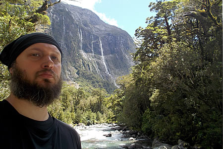 Justin Sytsma, Milford Highway, New Zealand.
